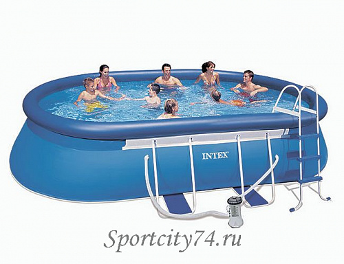 Бассейн Intex Oval Frame 28192/134361