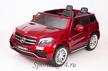Электромобиль Barty Mercedes-Benz AMG GLS63 HL228 вишнёвый